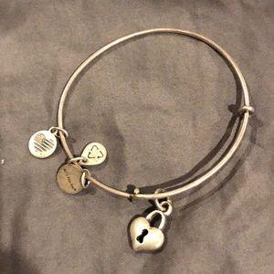 Alex and Ani Heart Lock Bracelet